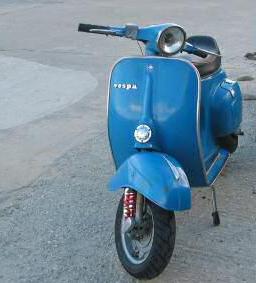 Vespa Originalfarben Azzurro cina 402