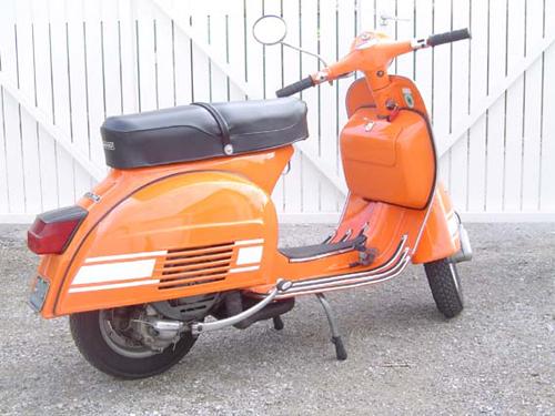 vespa farben originallack Giallo arancio 916
